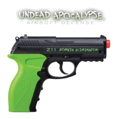 Crosman Z11 Zombie Eliminator Co2 Airsoft Pistol